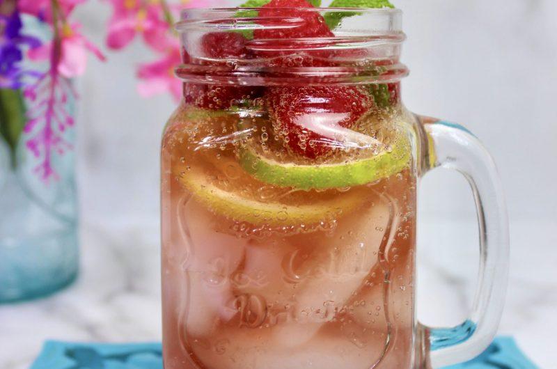 Sparkling Pomegranate Refresher