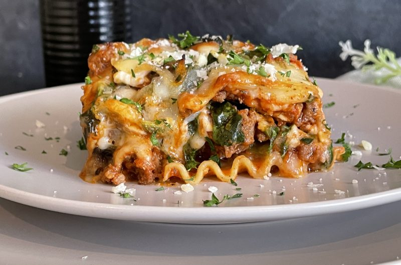 Easy Homemade Lasagna
