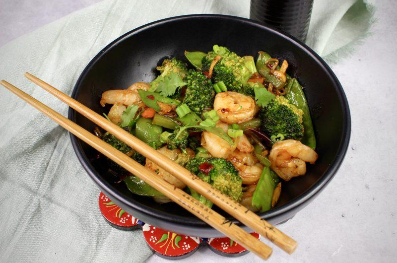 Quick Shrimp Stir Fry