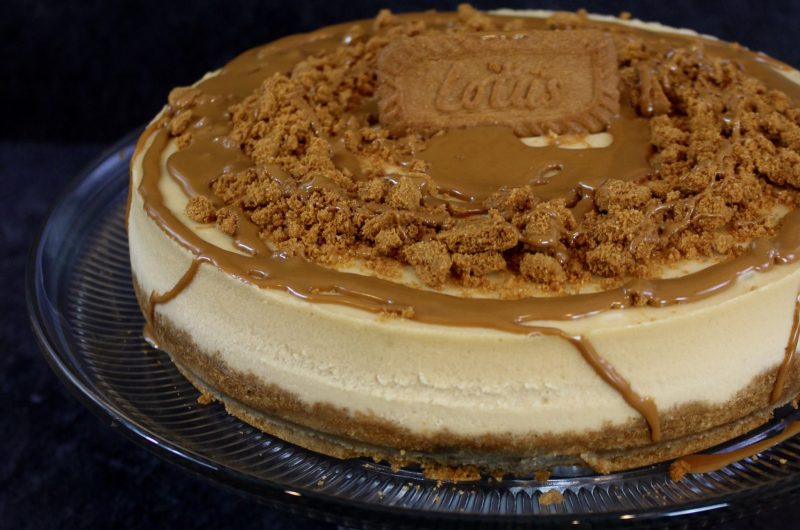 Lotus Biscoff Cookie Butter Cheesecake