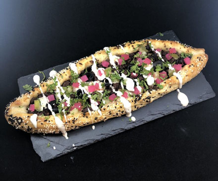 Homemade Turkish Pide Bread