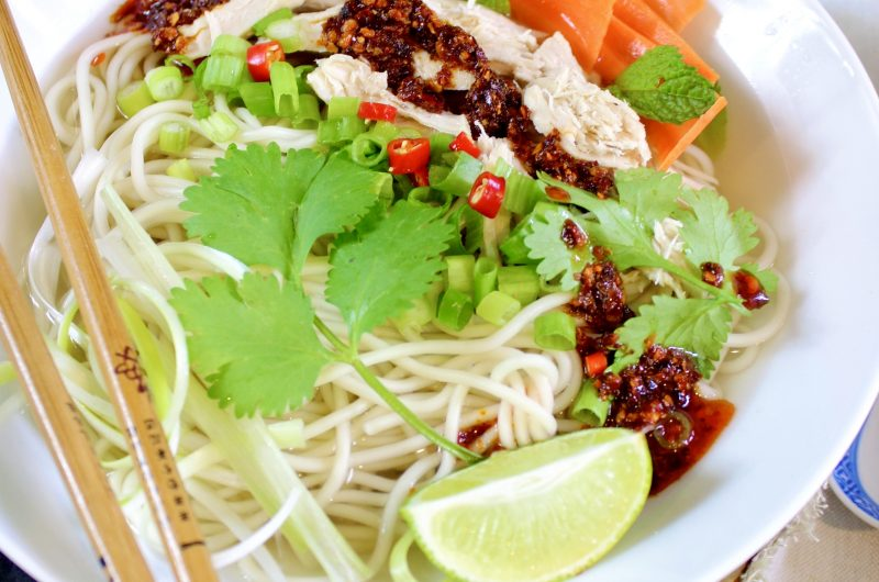 Chicken Ramen Noodle Soup