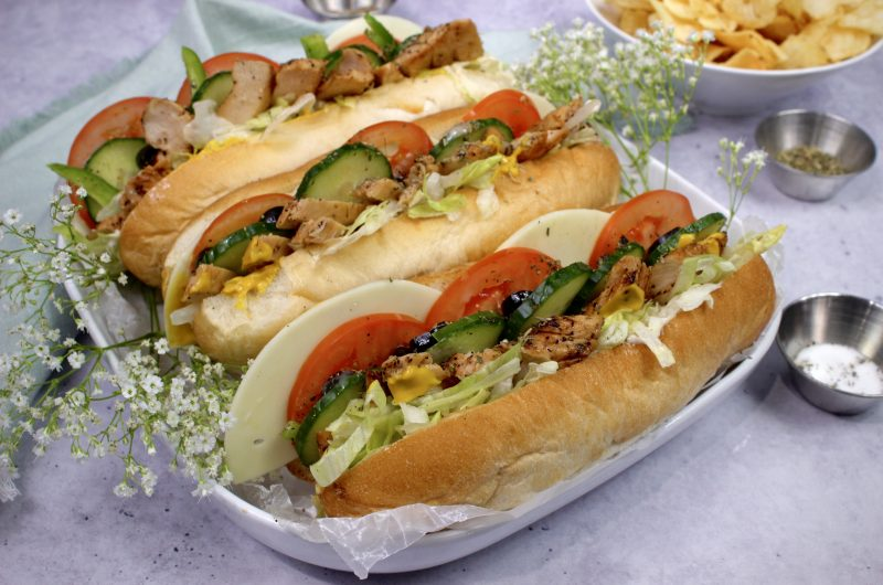 Chicken Teriyaki Subway Sandwich